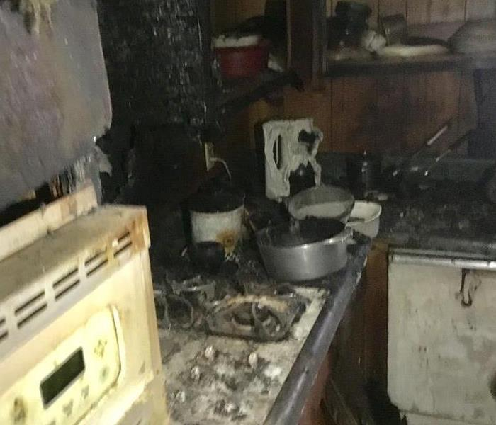 Fire Damage Kitchen Fire in Madison, MS